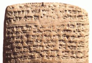 Escritura cuneiforme » Qué es, origen, para qué sirve, características, ejemplos
